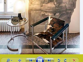 Cadeira pele natural:   por IP Decor Design & Concept