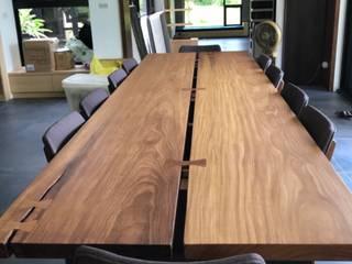 木材是需要加工的--榫接篇(蝴蝶榫) 根據 製材所 Woodfactorytc