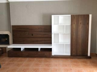 Decordesign Interiores SalasEstanterías Blanco