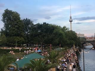 Berlin weekend (Hackescher Markt):  Garden by minjung.lee-homify