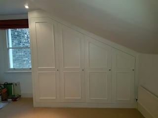 Bespoke Furniture Project in Chelsea - Bespoke Wardrobe Assembling Classic style bedroom by Fantastic Handyman Classic
