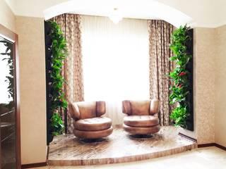 Озеленение частного дома от EcoWall.pro Классический