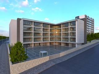 Samandıra Okul Projesi Modern Okullar EKSIMIMARLIK Modern