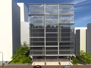 Mecidiyeköy Ofis Projesi EKSIMIMARLIK Modern