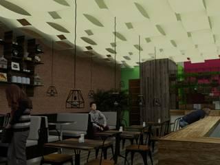 Coffe Comedores modernos de GT-R Arquitectos Moderno