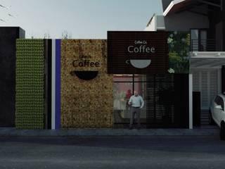 Coffe Casas modernas de GT-R Arquitectos Moderno