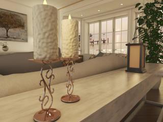 غرفة المعيشة تنفيذ Lambda Design
