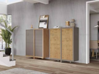 Decordesign Interiores Living roomCupboards & sideboards Grey