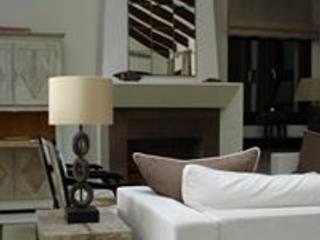 غرفة المعيشة تنفيذ Taller de Interiores Mediterraneos