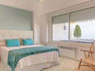 Taller de Interiores Mediterraneos Mediterranean style bedroom