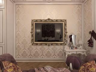 Cuartos de estilo clásico de Студия дизайна интерьера Руслана и Марии Грин Clásico