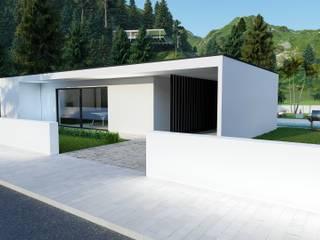 Moradia de Engenharia LSF Casas modernas por Strobe Decor Moderno