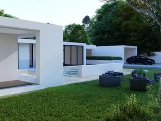 Moradia t3 - Amares - Engenharia LSF Casas de banho minimalistas por Strobe Decor Minimalista