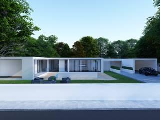 Moradia t3 - Amares - Engenharia LSF Casas minimalistas por Strobe Decor Minimalista