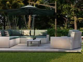 Moradia t2 - 125 m2 - Engenharia LSF Casas modernas por Strobe Decor Moderno
