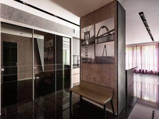 Хандсвел Minimalist living room Concrete Grey