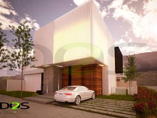 Detached home by DOS Arquitectura y construcción