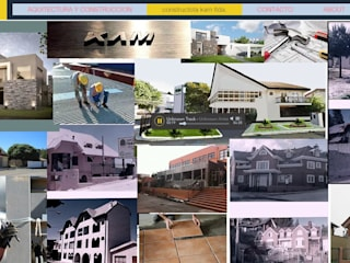 arquitectura construccion de Carlos Castillo Salas ARQUITECTO Moderno