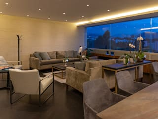 Living room by ARCO Arquitectura Contemporánea