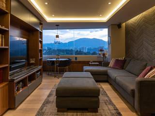 Departamento Vertice: Estudios y oficinas de estilo  por ARCO Arquitectura Contemporánea