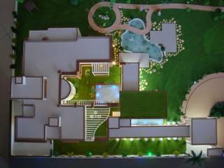 ABHISHEK PATEL HOUSE by Hardik Soni Architects Modern