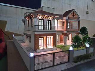UMESHBHAI HOUSE by Hardik Soni Architects Asian