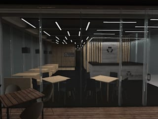 Sushi Reforma Gastronomía de estilo minimalista de Designo Arquitectos Minimalista