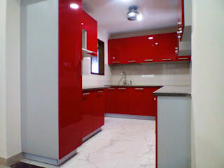 :  Kitchen by idr interior n consultant, Asian