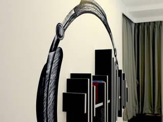 creative rhythm Modern walls & floors by shades - design studio by shweta Modern