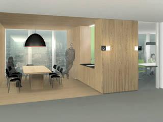 FISCHER & PARTNER lichtdesign. planung. realisierung Kantor & Toko Modern