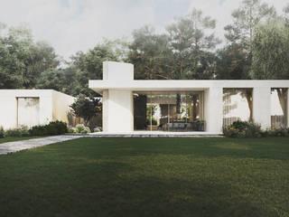 Дом в Юрмале: Дома с террасами в . Автор – Архитектурная студия Чадо