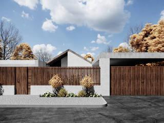 Частный дом в Краснодаре: Дома в . Автор – Архитектурная студия Чадо