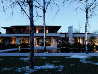 Дом в республике Мордовия: Дома в . Автор – Архитектурная студия Чадо