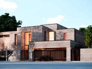 Дом в Ясной поляне - 3: Дома в . Автор – Архитектурная студия Чадо