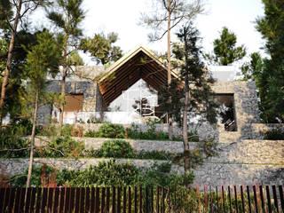 Дом в Крыму: Дома в . Автор – Архитектурная студия Чадо