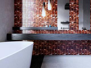Интерьер жилого дома в Юрмале: Ванные комнаты в . Автор – Архитектурная студия Чадо