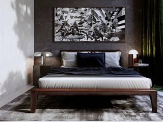 Интерьер жилого дома в Юрмале: Спальни в . Автор – Архитектурная студия Чадо