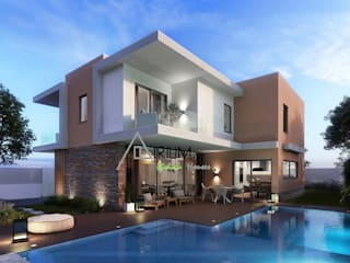 Single house - Cascais:  Houses by Atrium Projetos e Construção