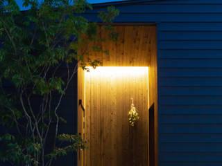 中庭のいえ: まんなみ設計室が手掛けた木造住宅です。,