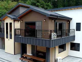 함께 머물다 갈 수 있는 휴식형 주택(강원도 홍천) 컨트리스타일 주택 by 더존하우징 컨트리