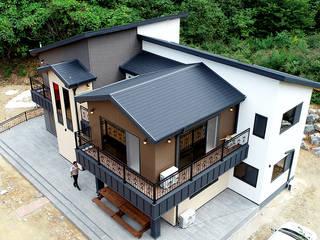 함께 머물다 갈 수 있는 휴식형 주택(강원도 홍천) by 더존하우징 모던