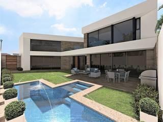 LEM House de Víctor Díaz Arquitectos Minimalista