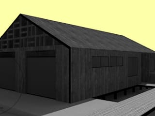 Diseño de Casa Barrera Quezada por Lobería Arquitectura de Loberia Arquitectura Mediterráneo