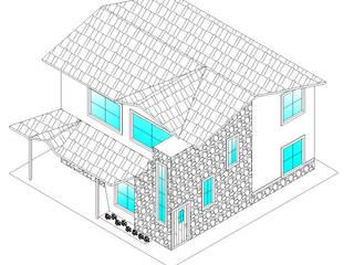 Perspectiva: Casas de estilo  por Stonehenge Urbano