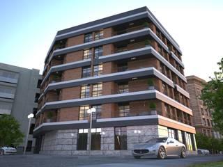 Doku Mimarlık – Bornova Apartman:  tarz Evler