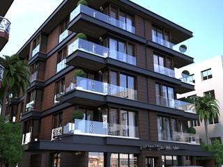 Doku Mimarlık – Alsancak Apartman Projesi:  tarz Evler