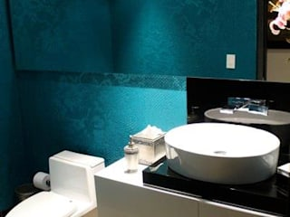 CASA ALAMOS Baños de estilo moderno de IngeniARQ Arquitectura + Ingeniería Moderno