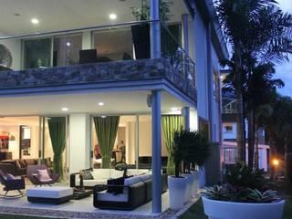 CASA ALAMOS Casas modernas de IngeniARQ Arquitectura + Ingeniería Moderno