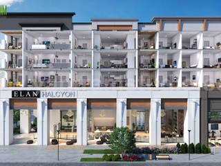 3D Cut Section of Floor Plan Designer Exterior Residential Apartment by Yantram Architectural Visualisation Studio, Florida - USA Yantram Architectural Design Studio