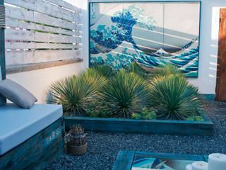 HOKUSAI Jardines de estilo ecléctico de Simbiosi Estudi Ecléctico